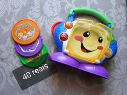 Rádio Fisher price