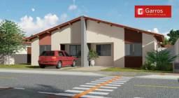 Casa com condomínio fechado com entrada de 500.00