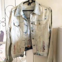 Jaqueta jeans operarock