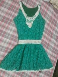 Vestido renda M