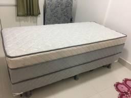 Vendo cama Box solteiro com auxiliar