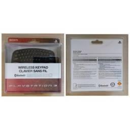Teclado Sem Fio Sony Wireless Keypad Clavier Sans Fil - PS3 - Novo / Lacrado