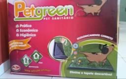 Banheirinho para cães com gramado
