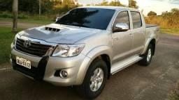 Hilux C. Dupla SRV 3.0 4X4 Diesel Aut Prata - 2014
