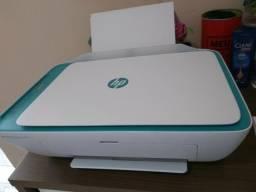 Impressora ( Wi-fi ) Hp 2675 Nova com Cartuchos Originais (2 meses de uso)