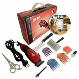 Maquina de tosa para caes Kit profissional