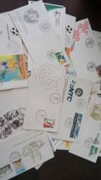 Lote De Envelopes 1º Dia Circulação De Selos Dos Correios