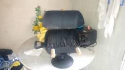 Mini churrasqueira a bafo - bafinho
