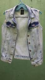 Jaqueta jeans Marisa