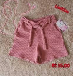 Shorts novos 35,00