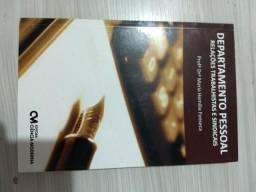 Livros para departamento pessoal e RH
