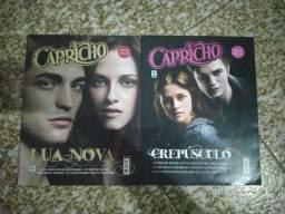 Revistas crepúsculo + biografia Robert Pattinson