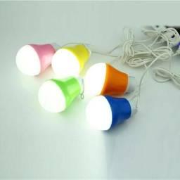 Lampada Usp Led 5w 500 lumens Novo Varias Cores