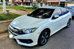 Honda Civic EXL 18/18 Branco Estelar Perolizado - 2018