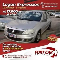 Logan 2011- 2mil a entrada e parcelas de 585- aproveite - 2011