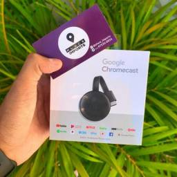 Chromecast 3 Original loja física entregamos Aceitamos cartão