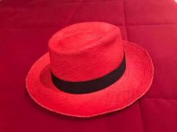 Chapéu em palha Panamá legitimo novo 781f959c7d5