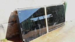 Porta Blindex Fume 10mm Pivotante