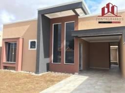 Casa à venda com 3 dormitórios em Santa terezinha, Fazenda rio grande cod:CA00107