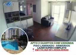 Apartamento à venda com 2 dormitórios em Colina de laranjeiras, Serra cod:AP270RS