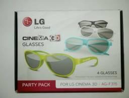 Óculos 3D Kit com 4 Óculos