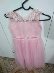 Vestido de festa #infantil