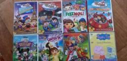 DVD's Filmes e Desenhos originais