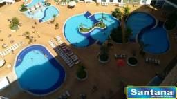 Apartamento de 2 quartos no Hotel Riviera em Caldas Novas