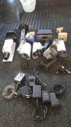 Cameras diversos modelos e capas