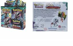Box Booster Pokémon Sol e Lua Guardiões Ascendente - Copag