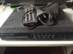 DVR domars 8 canais portas