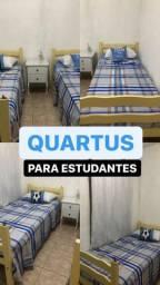 Aluguel de quarto compartilhado para estudantes e trabalhador