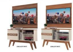 Lindo Rack Com Painel de TV até 43 Polegadas na D Tudo Para Casa Móveis