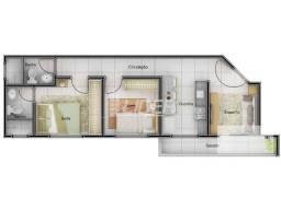 Apartamento à venda com 2 dormitórios em Santa mônica, Uberlandia cod:24507