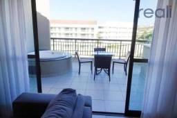 Cobertura mobiliada nascente vizinho ao Aquaville - Porto das Dunas