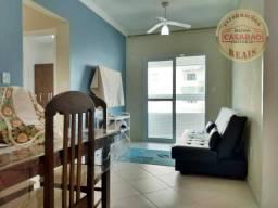 Apartamento com 2 dormitórios à venda, 72 m² por R$ 266.000,00 - Vila Guilhermina - Praia