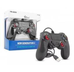 Controle com fio PS4
