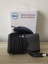Fonte e Mouse Óptico DELL Original*