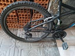 Celular LG K4 e bike Caloi aro 26