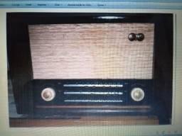 Rádio RCA Vitor anos 60 valvulado