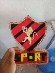 Escudo artesanal do Sport