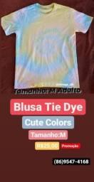Blusa Tie Dye Artesanal