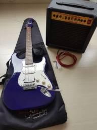 Guitarra Eaglle e cubo Warm Music
