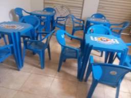 Jogos de mesas com cadeiras Tramontina