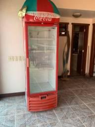 Expositora coca cola metalfrio ótimo estado