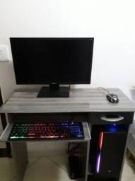 PC gamer i7 completo tv monitor de 32 polegadas GTX 1050 ti 4gb