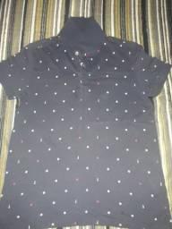 Camisa azul P
