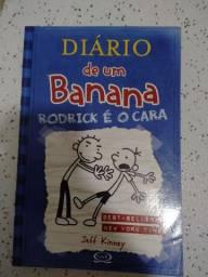 Kit 5 livros DIÁRIO DE UM BANANA