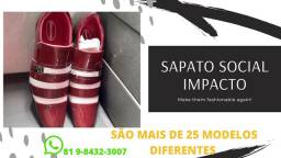 Sapato social de alta qualidade  ATACADO E VAREJO veniz e couro legítimo