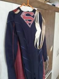 Cosplay fantasia supergirl